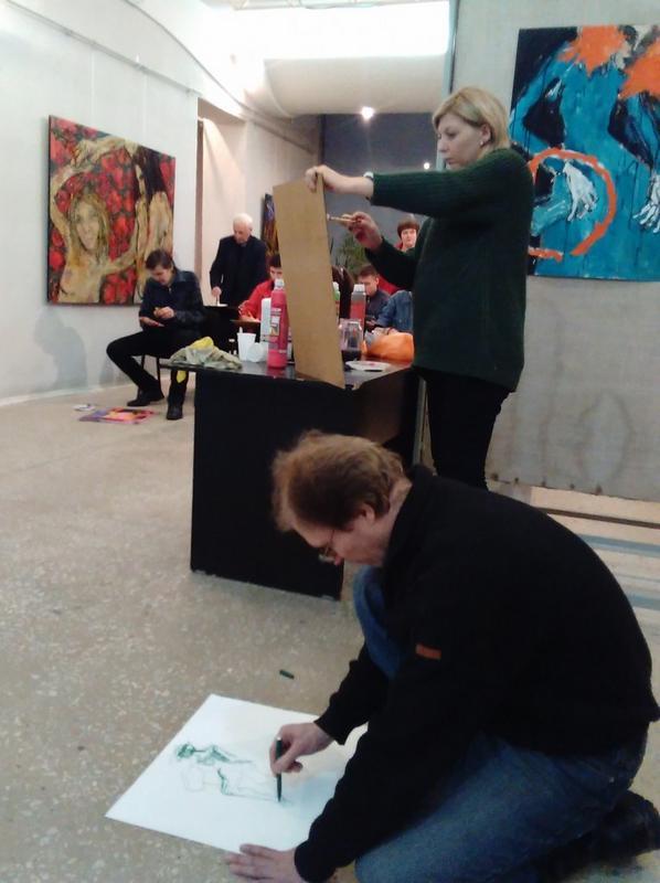 Мастер-класс по экспрессивной живописи