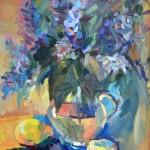 В.Суханов. Цветы и лимоны.