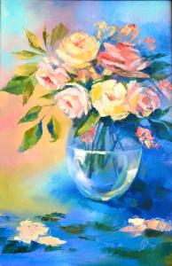 Н.Воложенинова. Поздние розы