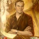 О художнике Володе Суханове х.м. 2008 (80х63,5)