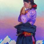 Молитва. 70х100см.2015 - копия