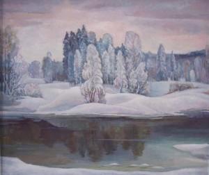 Начало зимы.Яковлев А.